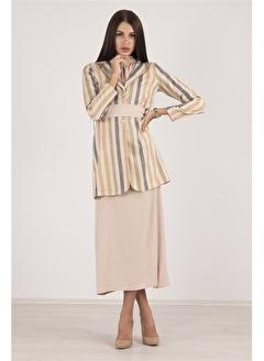 Belamore  Camel Ceketli Elbise Takım 4221075.09